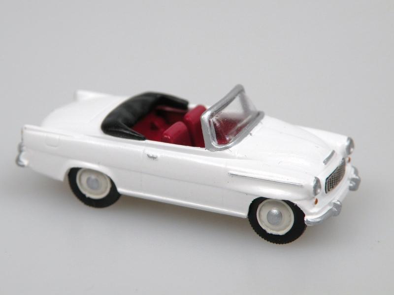 S996 Super cabrio (1961) bílá
