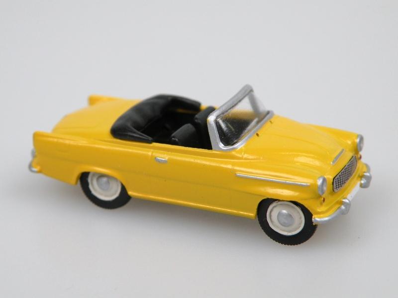 S996 Super cabrio (1961) žlutá