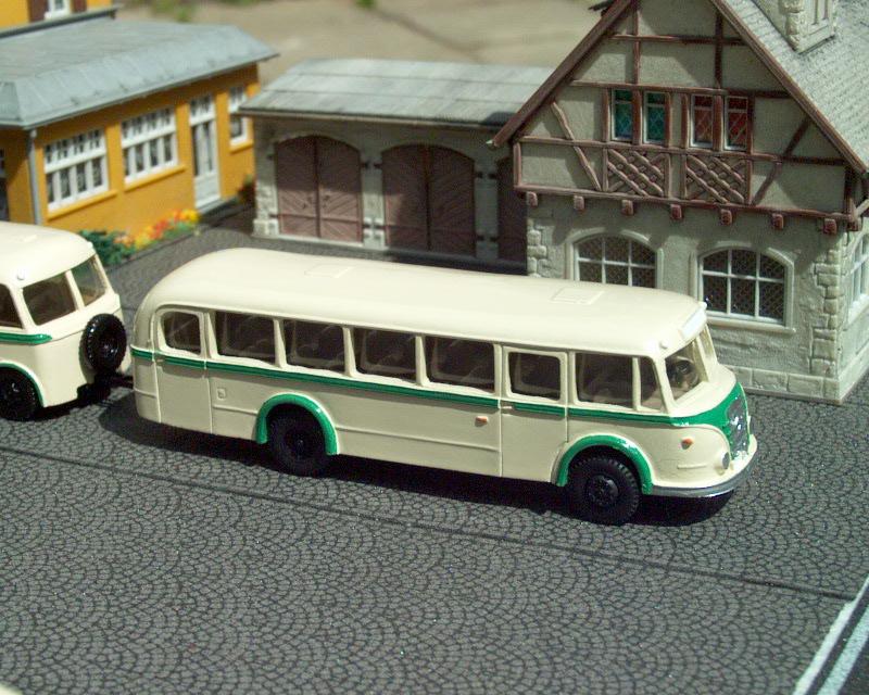 1955 IFA H6/L linkový/Line bus KVG Sachsen