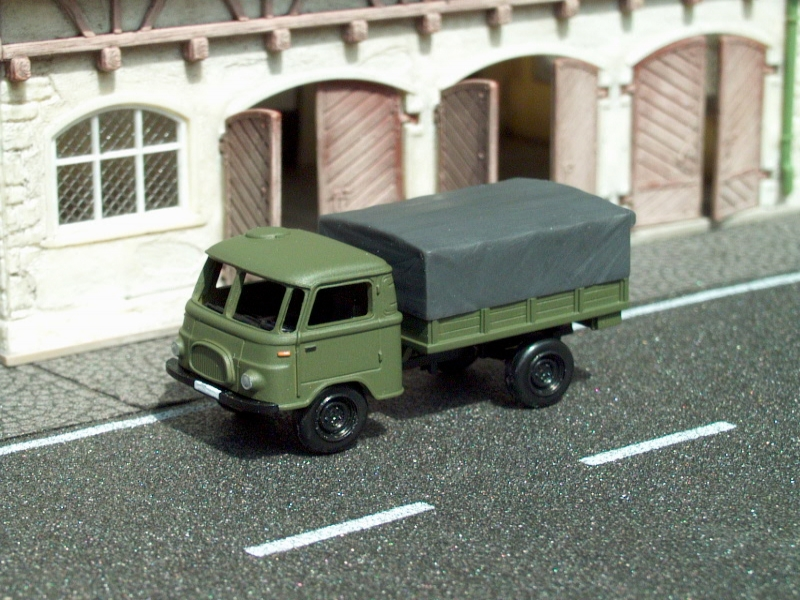 1961 Robur Lo1800A MTW military truck/Pritsche-Plane