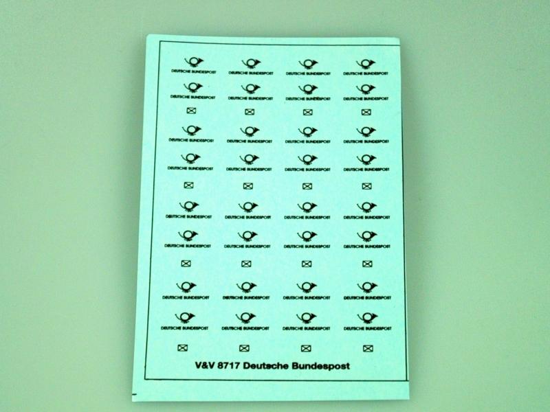 8717 Deutsche Bundespost (1949-   ) 1:87