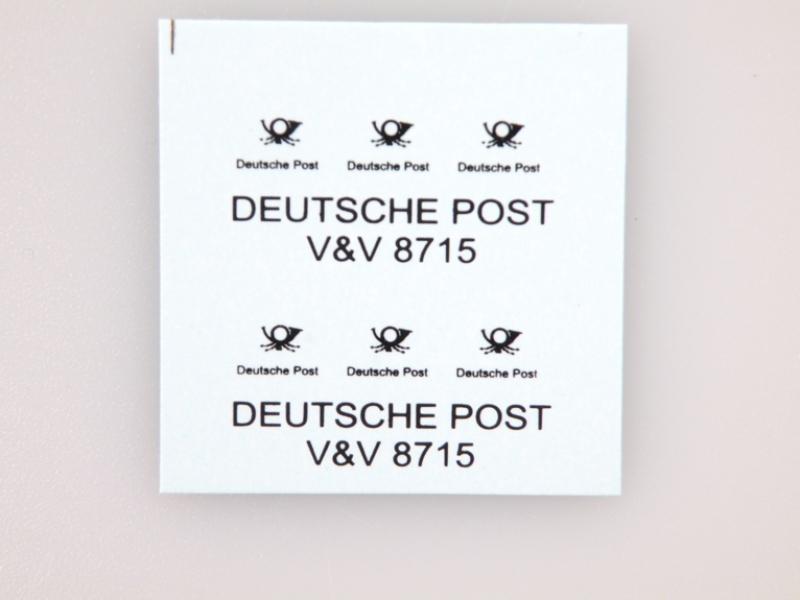 8715 Deutsche Post (HO/TT)