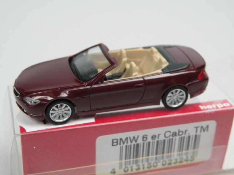 BMW 6 cabrio (1/87 Herpa 023245)