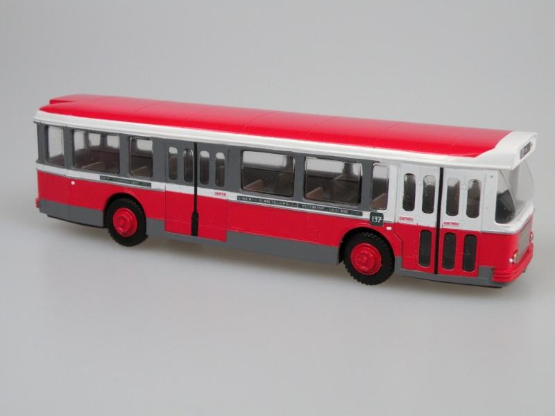 SAI 4353 Saviem SC10 1-4-4 RATP, měřítko 1/87