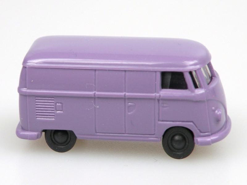 VW van (1:120) fialový/violet (milka)
