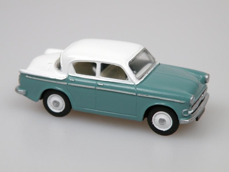 1959 Minx Series IIIA Turquoise green/white