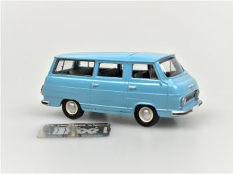 S1203 Minibus light blue