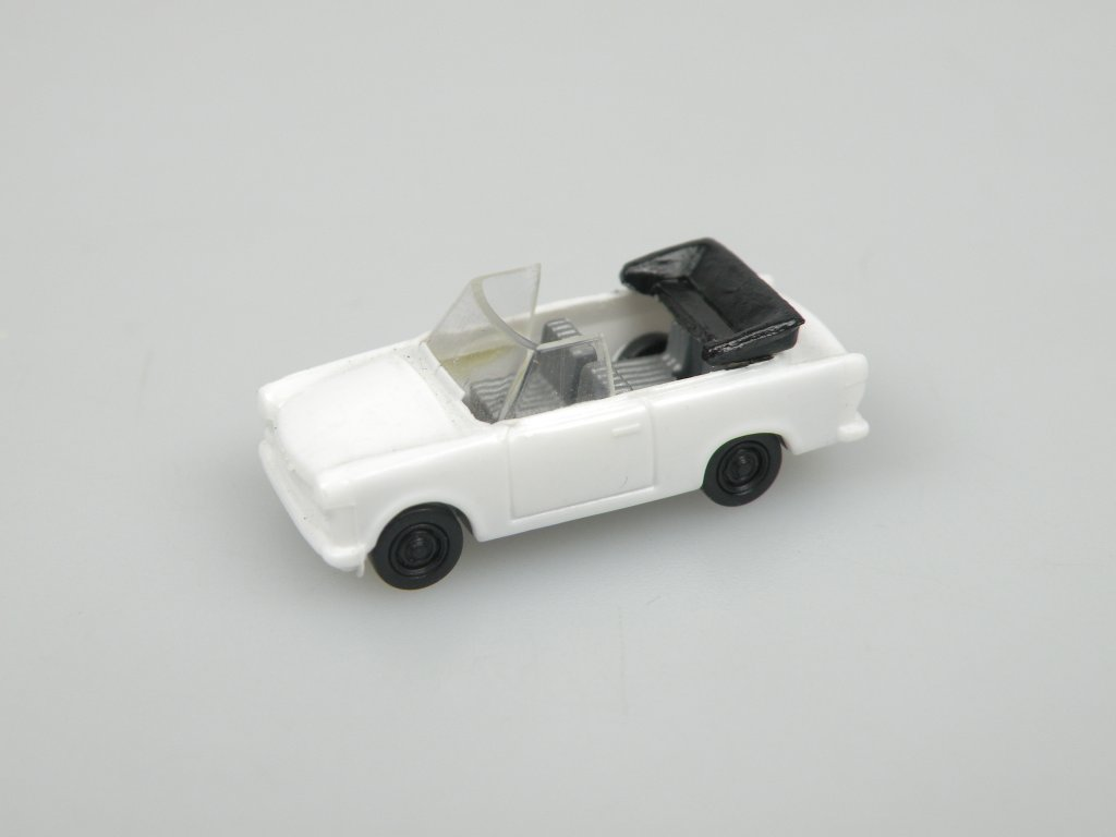 Trabi Cabriolet  (1:120) bílý