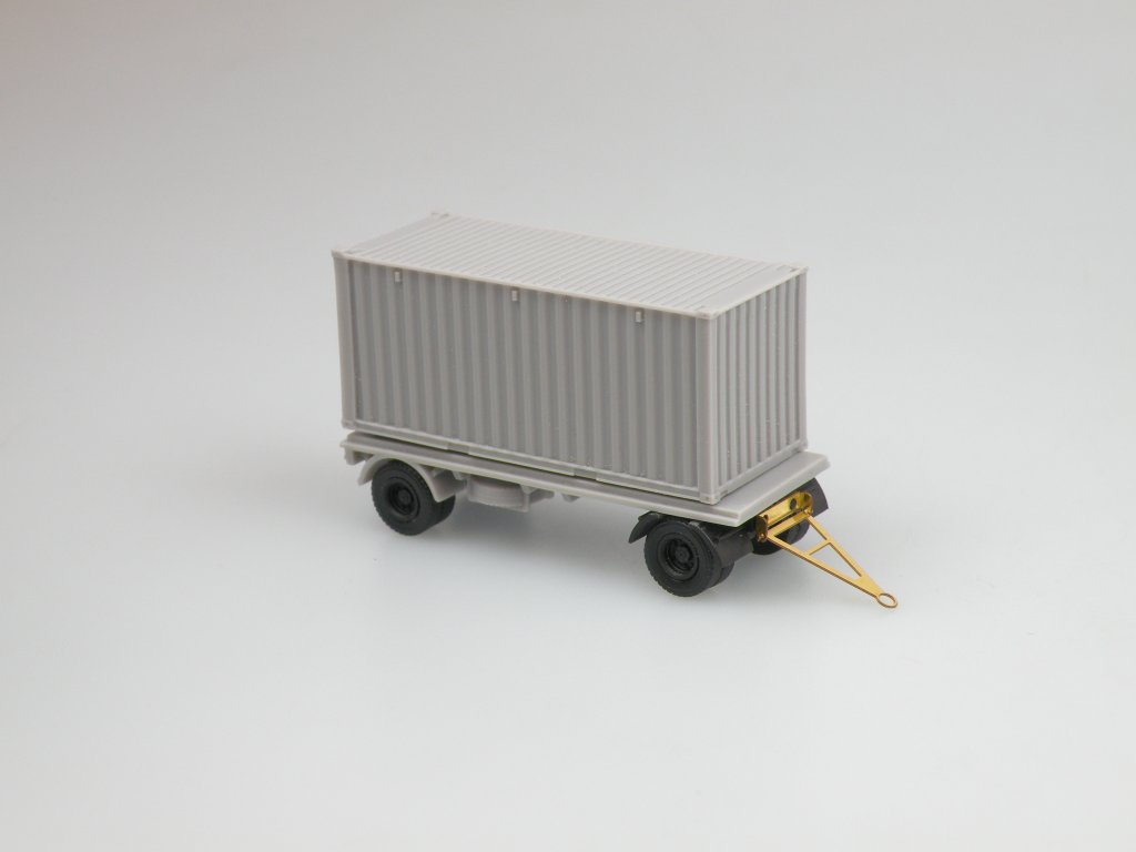 Container 20' trailer
