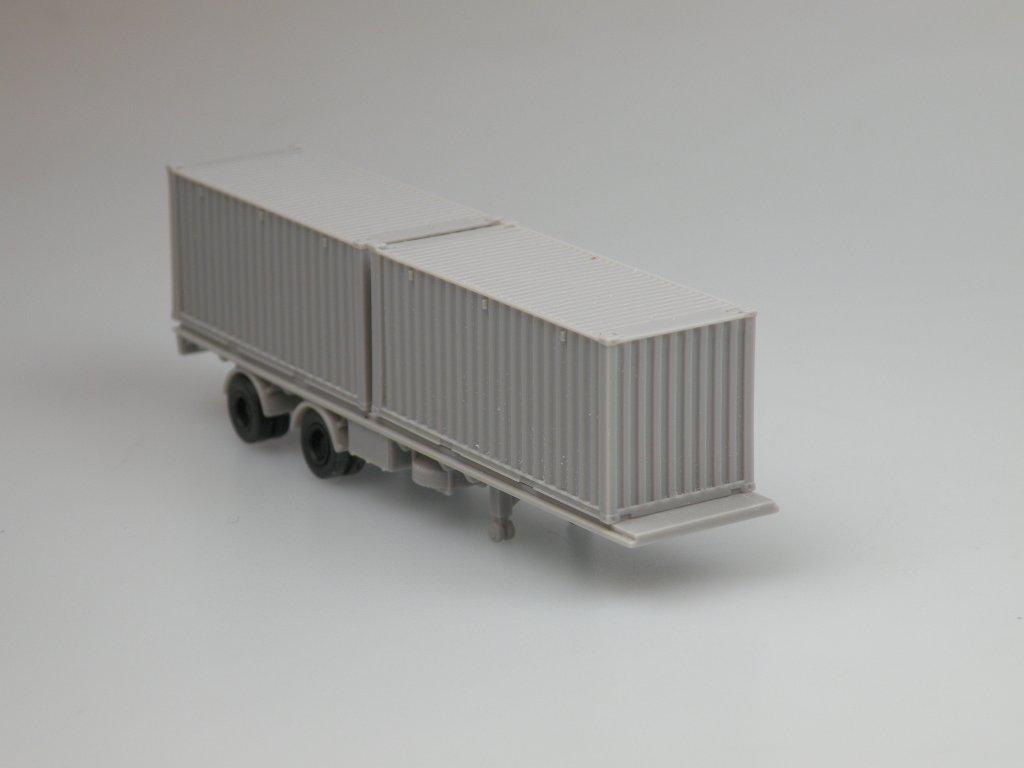 návěs s kontejnery