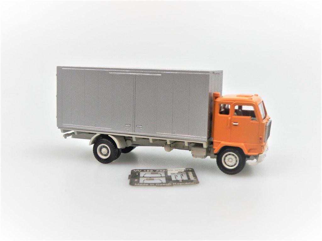 F88 4x2 Box / Fridge Truck