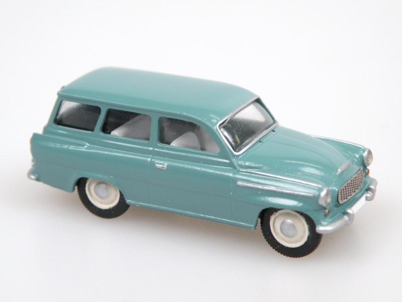 S 993 C Combi (1961) tyrkysová zelená