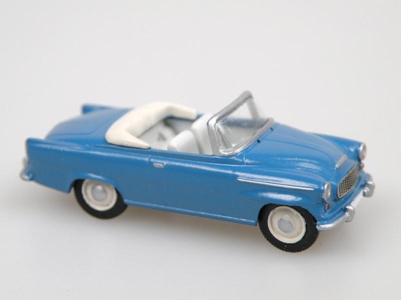 S996 Super cabrio (1961) modrá