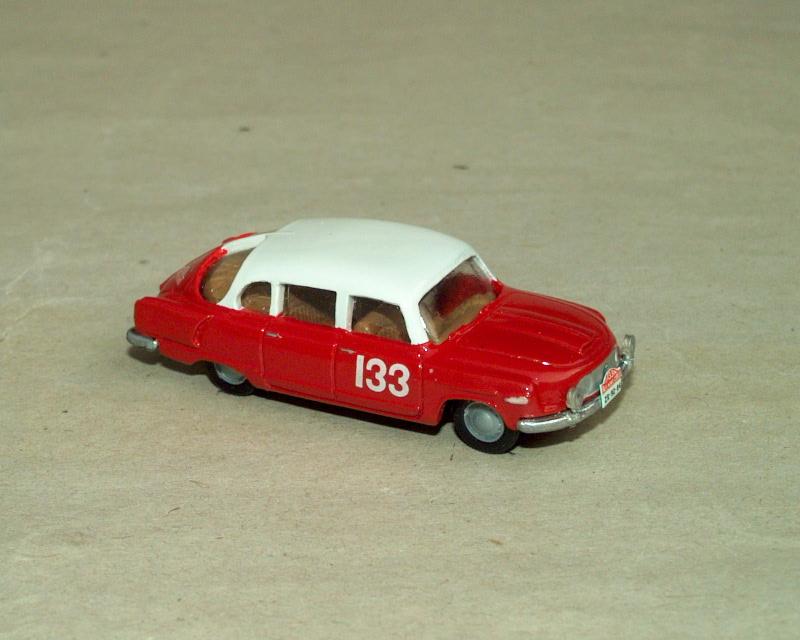 T 603-1 Rallye Monte Carlo 1960 No. 133 (červenobílá)