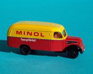 1956 Garant 30K Lieferwagen MINOL