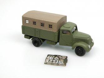 1956 Garant 30K MTW (vojenský s pl./Militär LKW/Military truck)