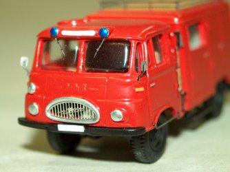 1964 Robur Lo1800A GEW (Grubenwehr-Einsatzwagen) red