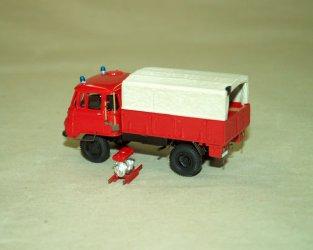 1974 Robur Lo2002A LF 8-TS 8 plechová korba