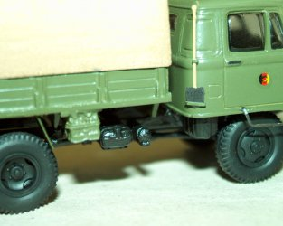 1974 Robur Lo2002A MTW (Military truck NVA)