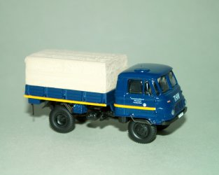 1977 Robur Lo2002A MTW (THW) -blue