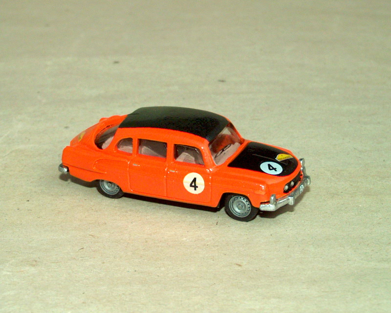 T 603-2 B5 Marathon de la Route '67 No.4 (orange)