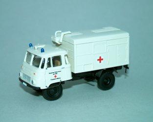 """1974 Robur Lo2002A KTW """"DRK"""" Ambulance"""