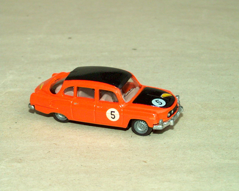T 603-2 B5 Marathon de la Route '67 No.5 (orange)