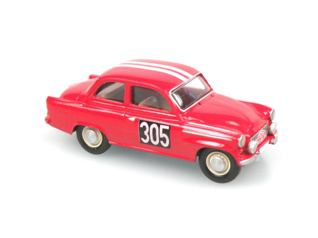 S995 TS Rallye Monte Carlo 1962 No. 305 (červená)