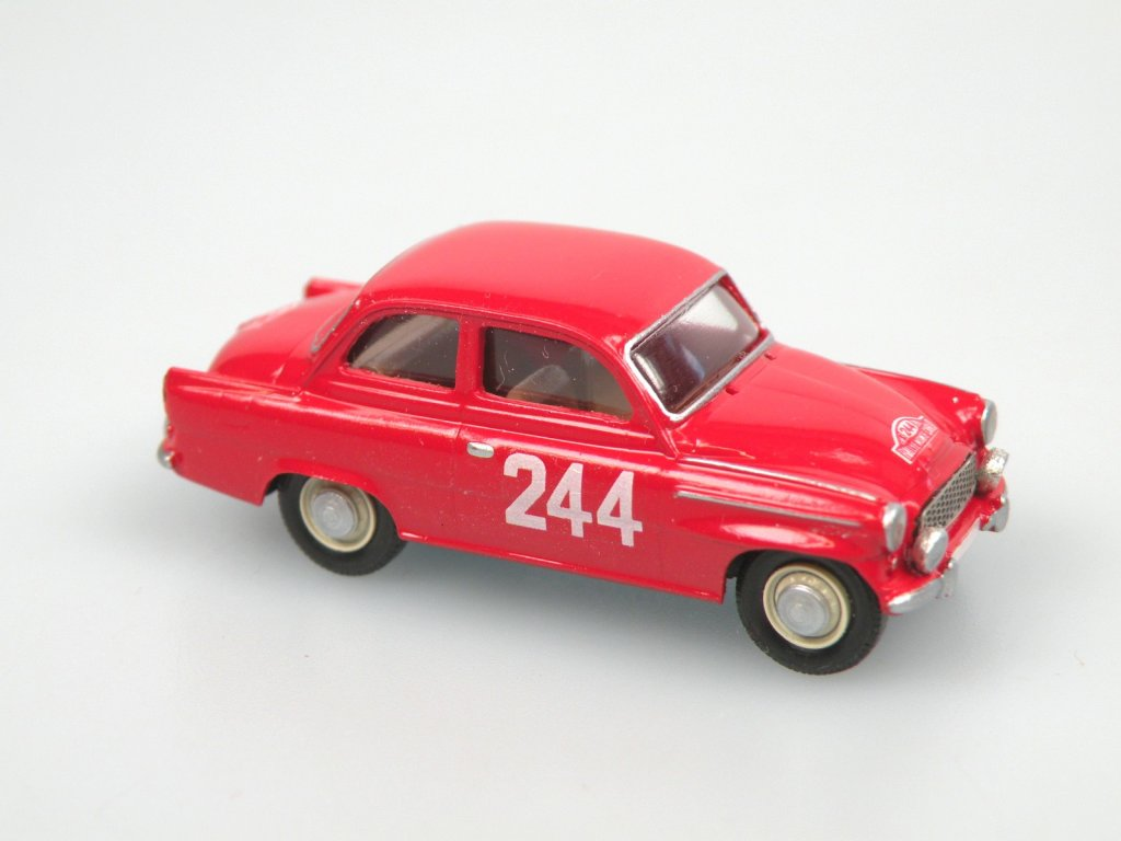S995 TS Rallye Monte Carlo 1963 No. 244 (red)