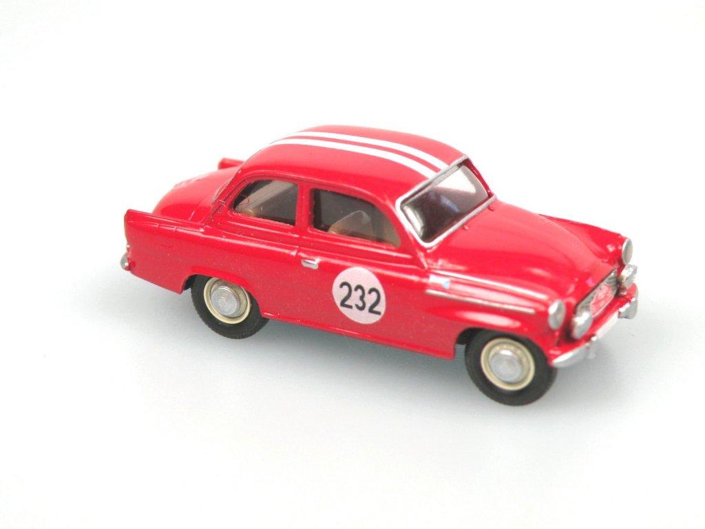S995 TS Rallye Monte Carlo 1964 No. 232 (červená)