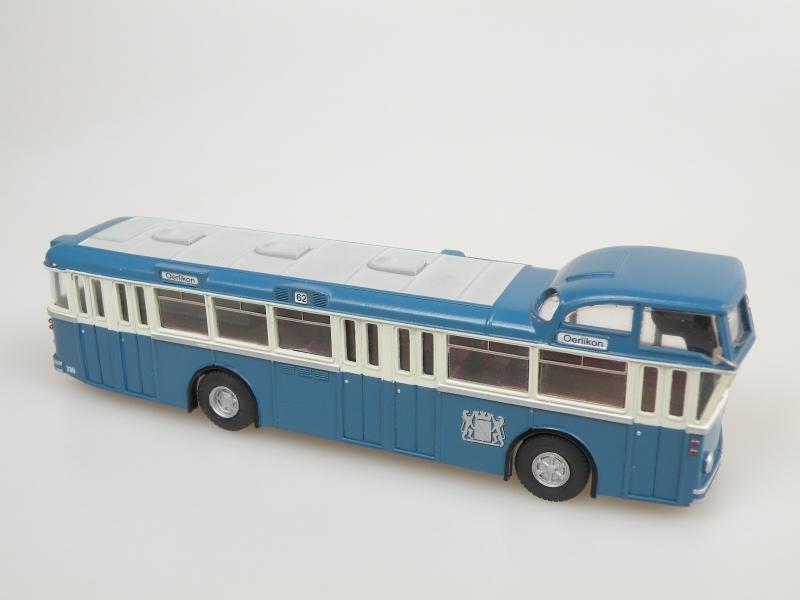 1959 FBW/Tüscher B71UH Hochlenker (Zürich) linkový bus