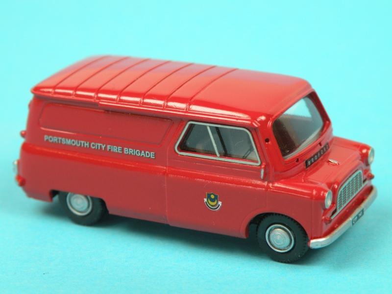Bedford CA Fire Van (UK)
