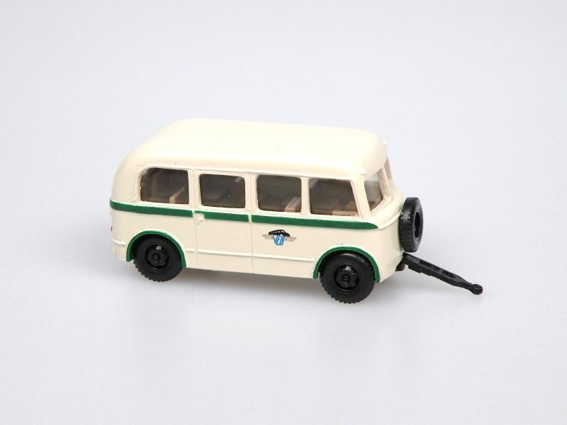 1956 W701/L autobus.přívěs/bus trailer (ivory-KVG Sachsen)