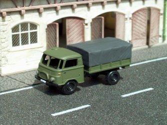 1961 Robur Lo1800A MTW military truck/Pritsche-Plane