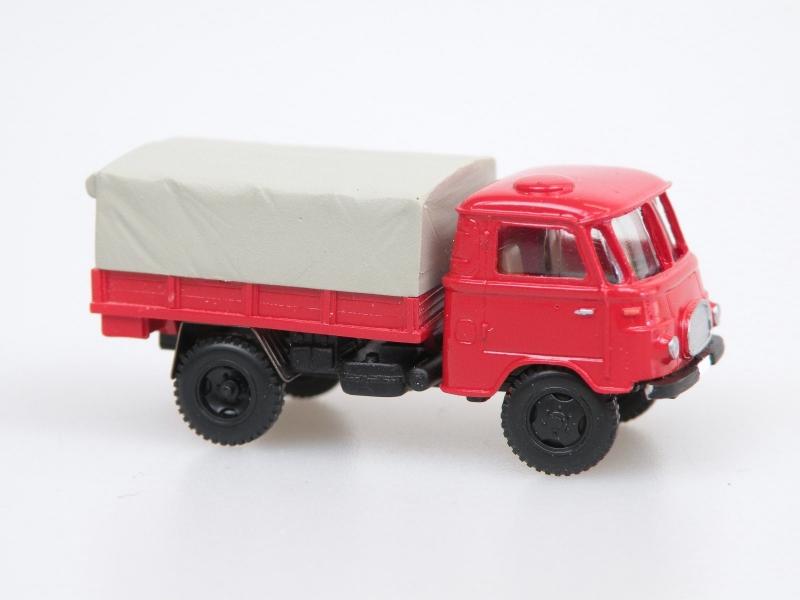 1961 Robur Lo1800A MTW Fire truck/Pritsche-Plane (Feuerweh