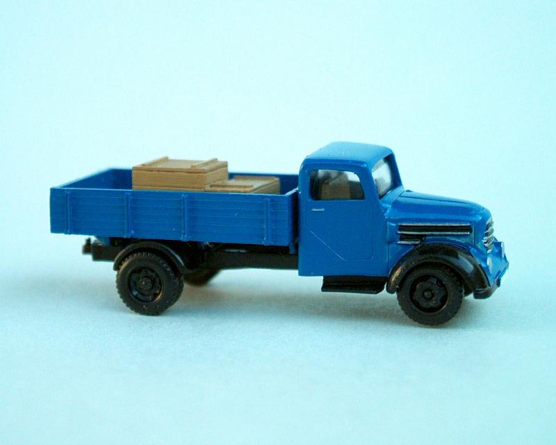1956 Garant 30K valník/Pritsche/flat bed truck (blue)