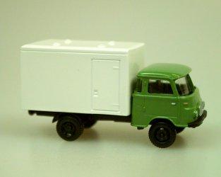 1961 Robur Lo2500 Isotherm Van (green/white)