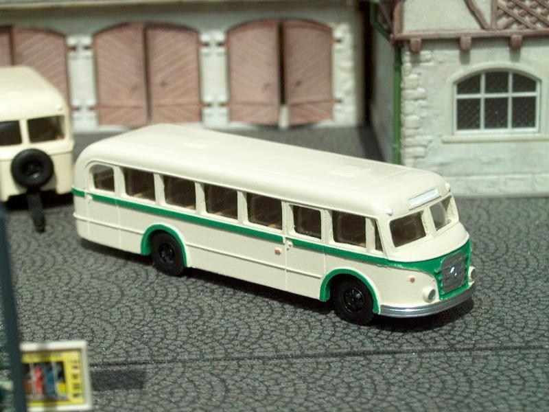 1955 IFA H6/L Line Bus