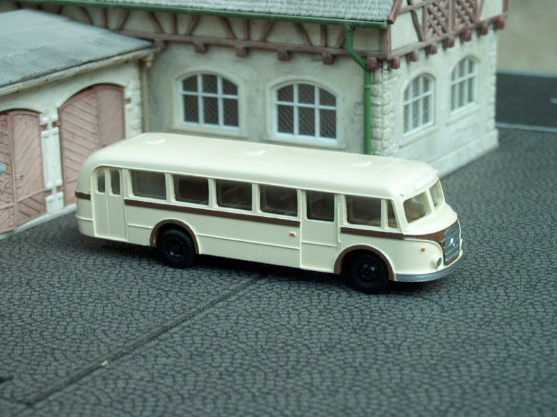 1955 IFA H6/S City Bus