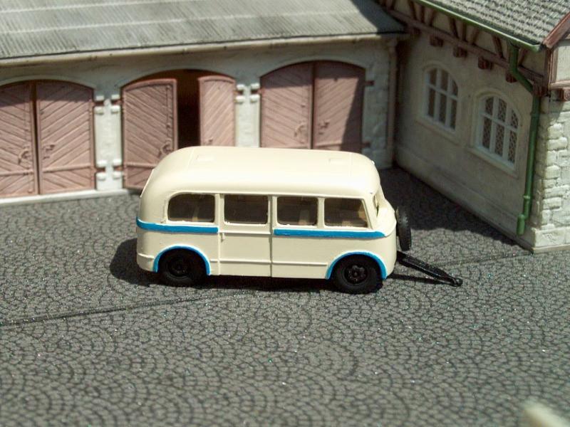 1956 W701/S autobus.přívěs/bus trailer
