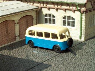 1956 W701/L autobus.přívěs/bus trailer
