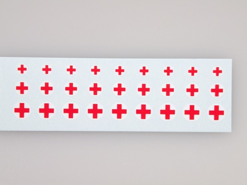 8705 Red Cross I. 1:87