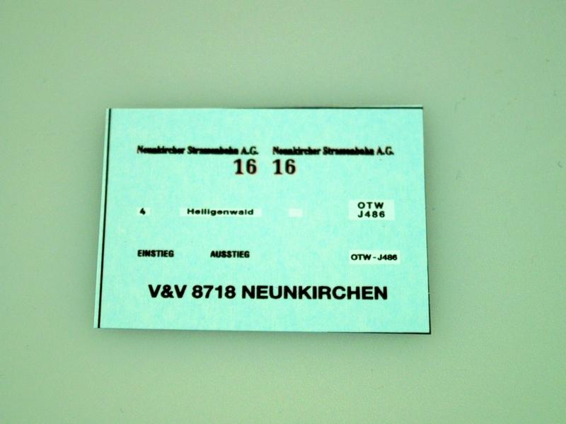 8718 Neunkircher Strassenbahn 1:87