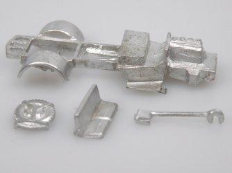 Garant/Granit - vojenský podvozek (krátký)