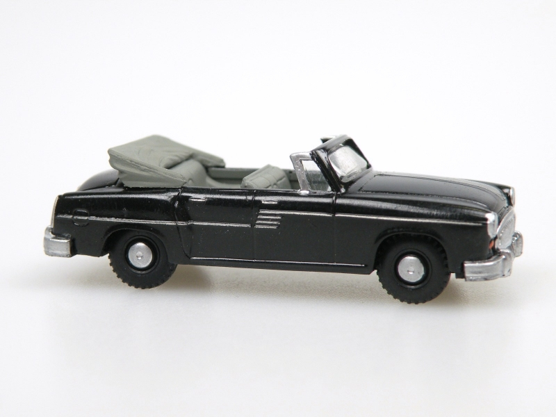 1956 H 240 Sachsenring I. Cabrio open (black)