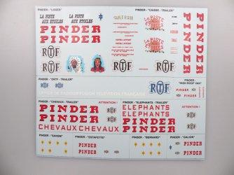 Cirkus Pinder obtisky No.1