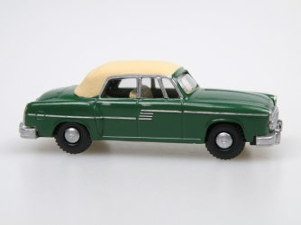1956 H 240 Sachsenring I. Cabrio closed (dark green/ivory)