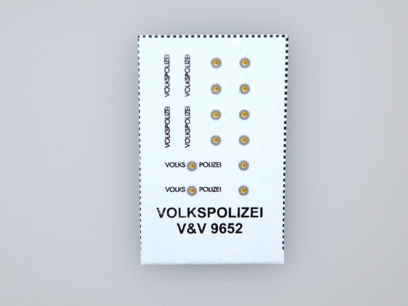 9652 Volkspolizei 1:120 (TT) decals
