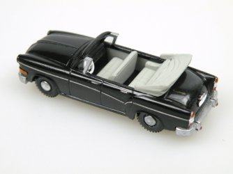 1958 H 240 Sachsenring II. Cabrio open (black)