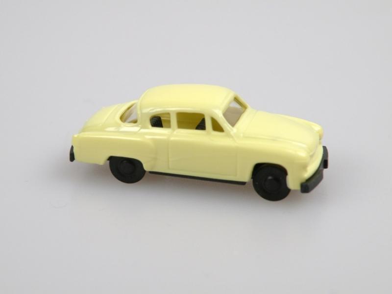 Wartburg Coupe (1:120) žlutý/yellow